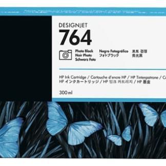 HP 764 300-ml Photo Black DesignJet Ink Cartridge