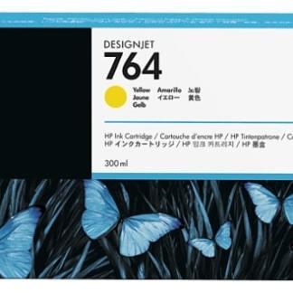 HP 764 300-ml Yellow DesignJet Ink Cartridge