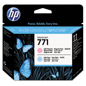 HP 771 Light Cyan Light Magenta Printhead
