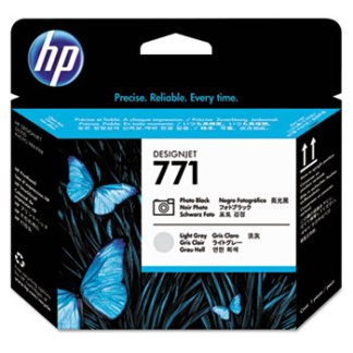 HP 771 Light Gray Photo Black Printhead