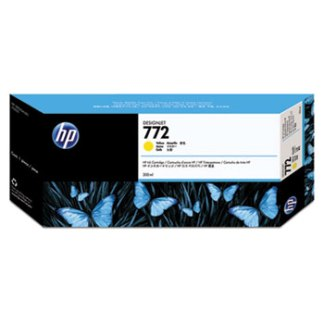 HP 772 Yellow Original Ink Cartridge 300ml