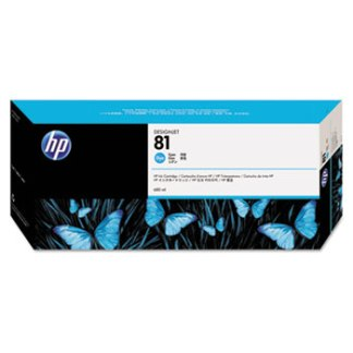 HP 81 Cyan Original Ink Cartridge