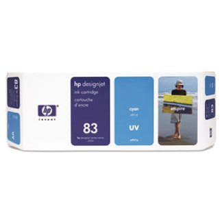 HP 83 UV Cyan Original Ink Cartridge