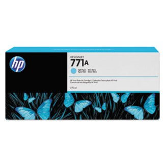 HP771A 775-ml Light Cyan DesignJet Ink Cartridge