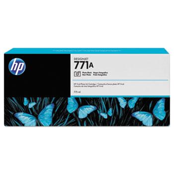 HP771A 775-ml Photo Black DesignJet Ink Cartridge