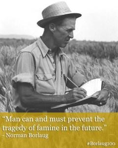 #Borlaug100