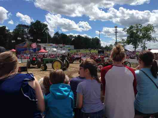 tractor square dancing