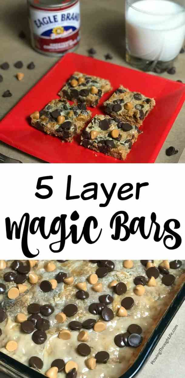 five layer bar cookies