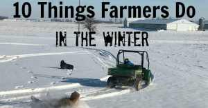 what farmers do in the winter