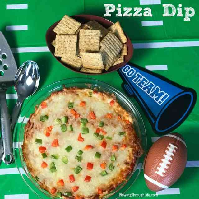 easy snack for crowd is quick pizza cheese dip recipe