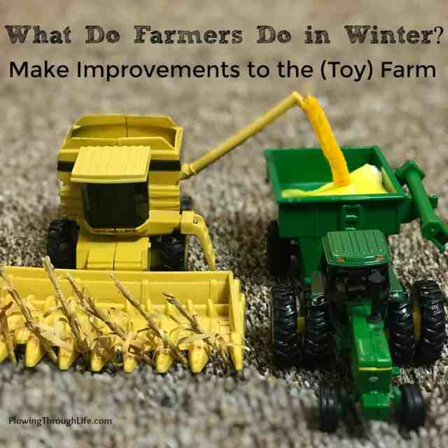 1/64 farm scene idea harvest
