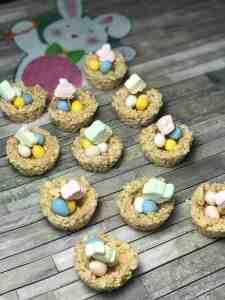 Easy Easter Egg Nest Treats