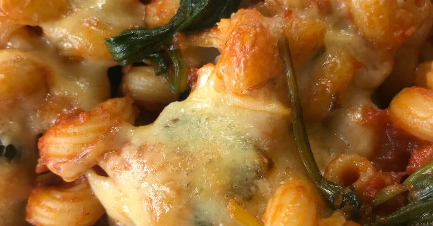 vegetable bake with pasta recipe