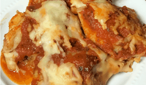 meat and pasta casserole recipe