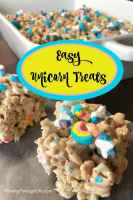 Easy unicorn food idea for a fun party. This unicorn dessert is perfect for a kid birthday party recipe idea.