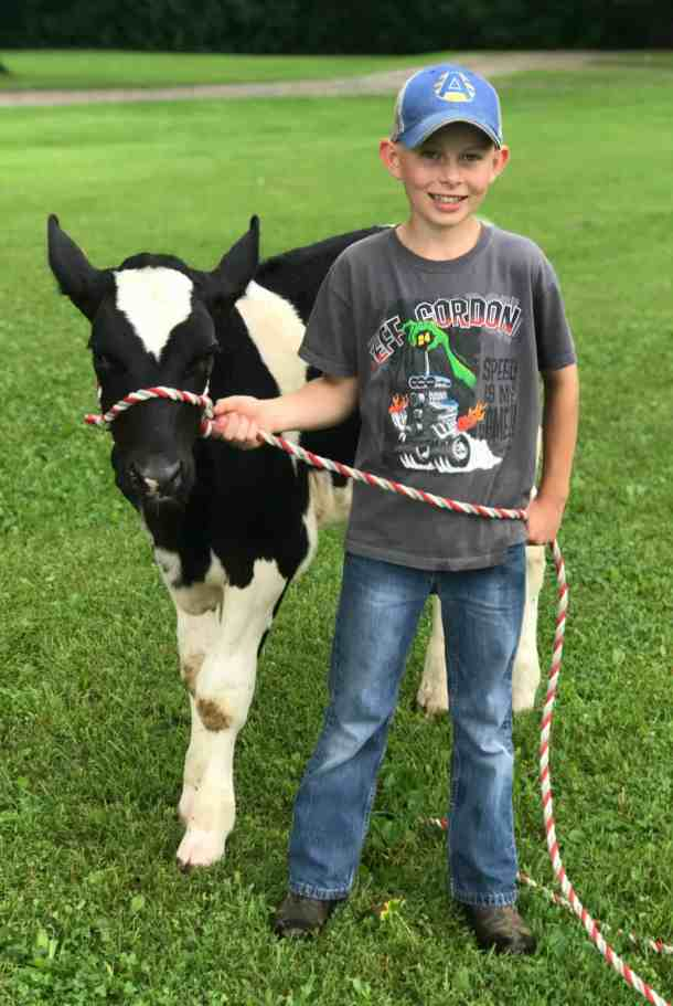 4-H dairy feeder project