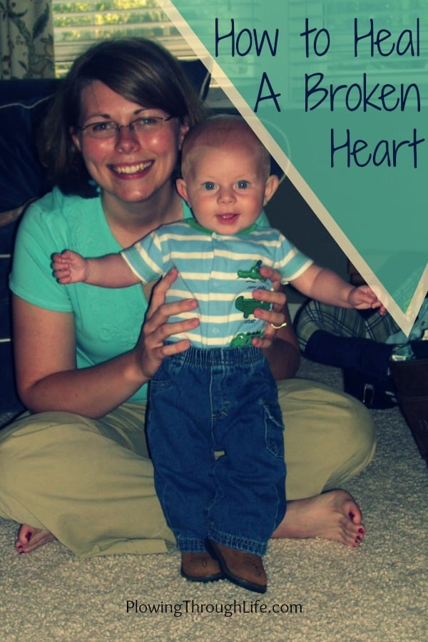 how to heal a broken heart. how to talk to a child about a deceased parent