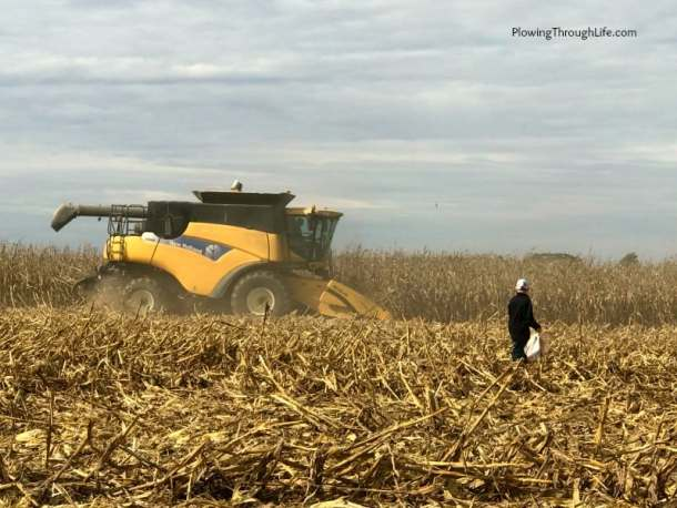 new holland combine in Randolph co Indiana