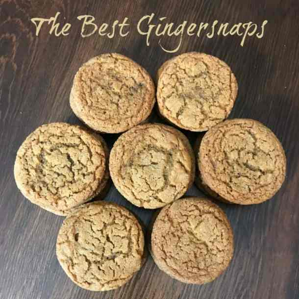 Are you looking for the best Christmas cookies?  There's nothing that smells more like Christmas than a fresh batch of the best Gingersnaps!