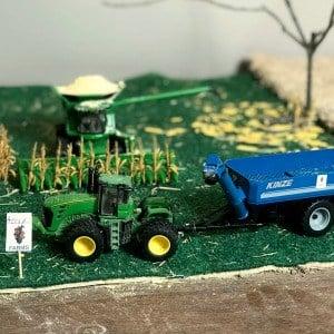 1/64 Scale Farm Toy Ideas – Harvest Scene