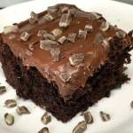 Crème De Menthe Chocolate Mint Cake