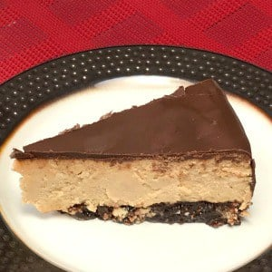 Classic Buckeye Cheesecake