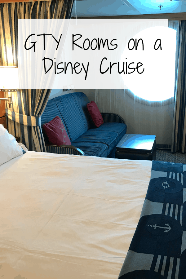 GTY or guarantee rooms on a Disney Cruise