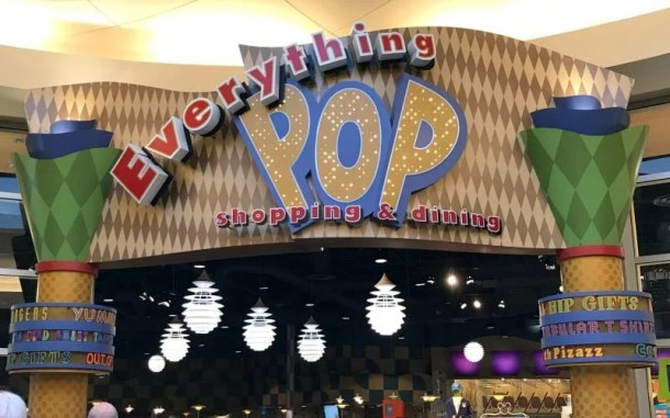 Pop Century Food Court & Shopping near lobby