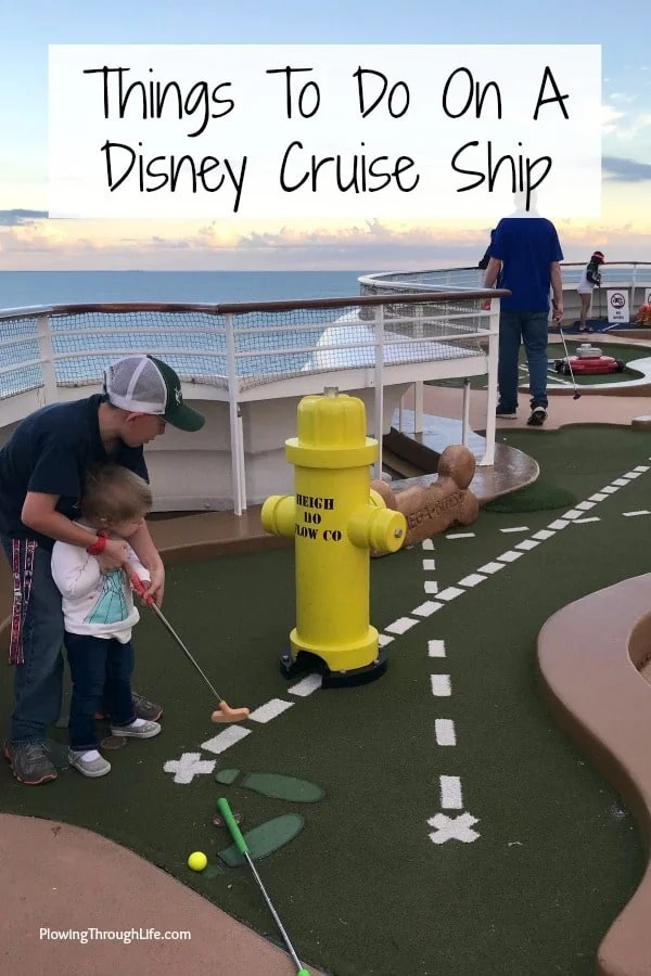 Things to do on a Disney cruise ship - Things to do on the Disney Dream Cruise Ship