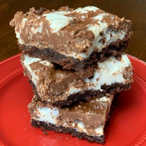 Gooey Marshmallow Brownies