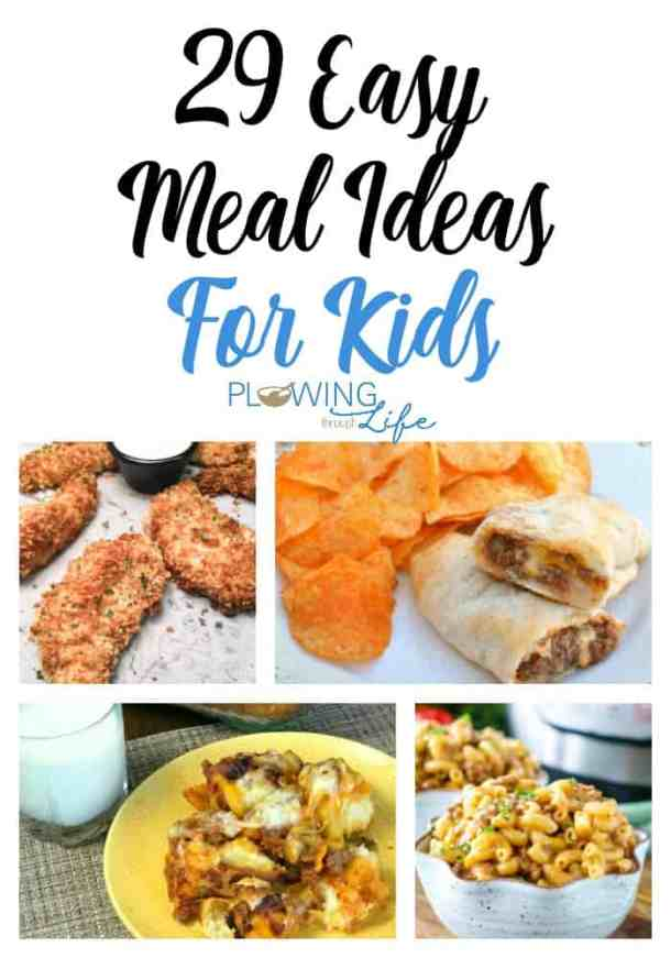 Easy meal ideas for families with picky eaters