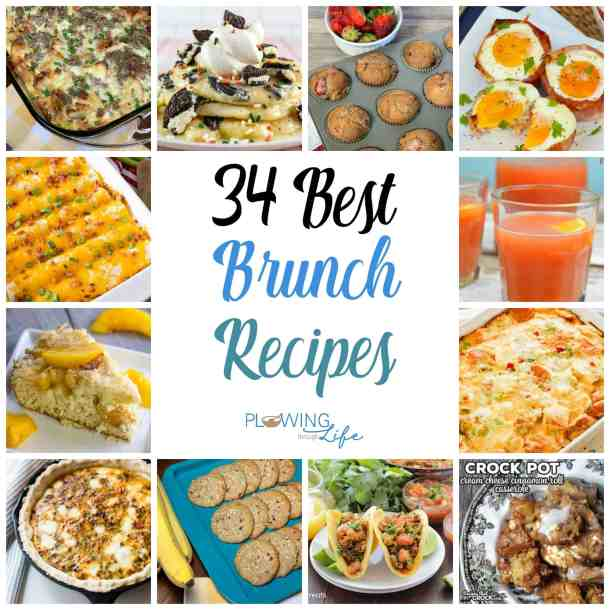 Are you looking for delicious brunch ideas?  We've found a wonderful collection of the best brunch recipes ranging from egg casseroles to muffins, cinnamon roll casserole, overnight French toast and a special brunch punch!