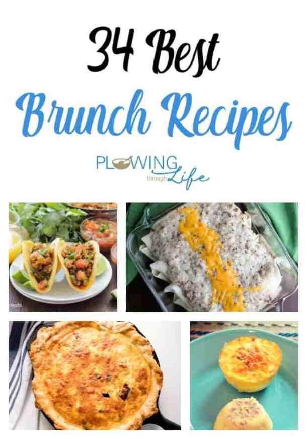 Easy brunch and breakfast recipe ideas