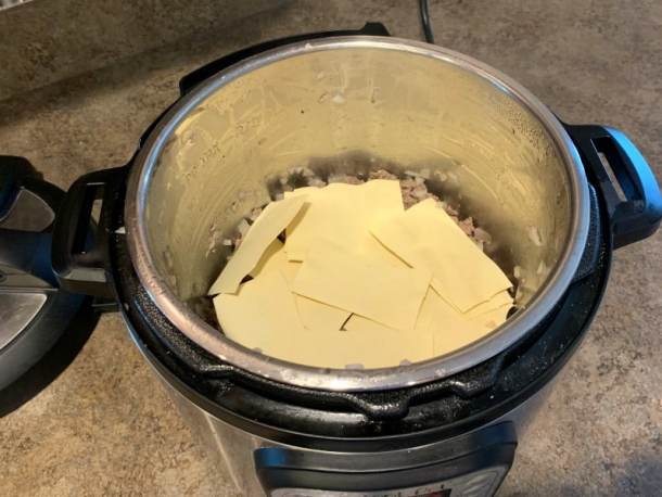 how to make no boil pasta work well in the Instant Pot