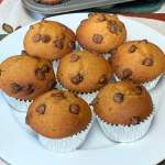 7 Pumpkin Chocolate Chip Muffins are a chocolate pumpkin treat for breakfast, snacks and dessert