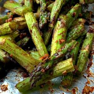 Air Fryer Asian Asparagus