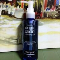 Neutrogena Deep Clean Cleasing Oil, Review
