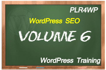 plr4wp Volume 6 WordPress SEO