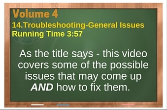 plr4wp Vol 4 Video 14 Troubleshooting-General Issues
