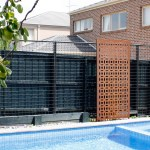 'Cirque' Decorative Pool Screens (Corten)