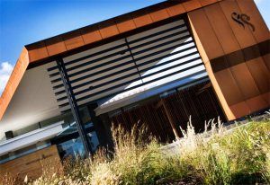 Corten Cladding - Settlers Run Golf Club, Botanic Ridge