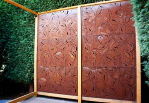'Lush' Privacy Screens (Corten)
