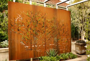 'Mystic Tree' Decorative Screen Set (Corten)