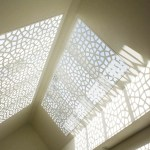 'Turtle Shell' Ceiling Privacy Screens (Powder Coated Aluminium)
