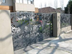 'Olinda Leaves' Gate and Fencing