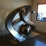 Custom-Designed Monogram Sculpture
