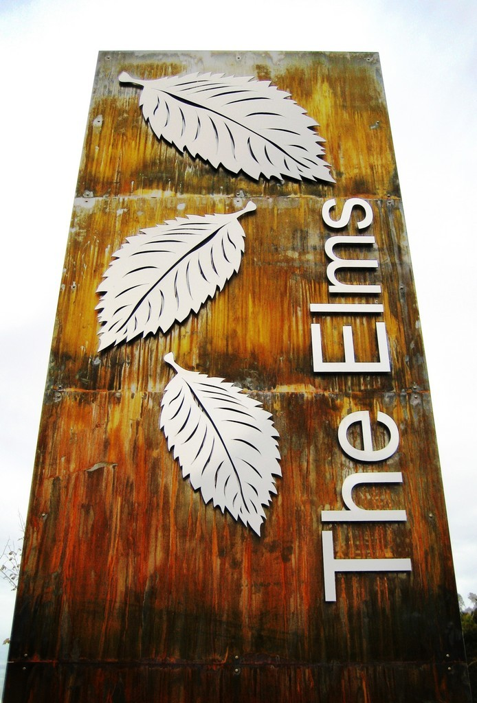 Signage with Stainless Steel