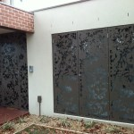 Decorative Metal Security Doors-18