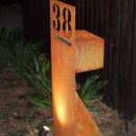 Freestanding Laser Cut Mailbox