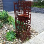 Freestanding 'Jigsaw' Mailbox